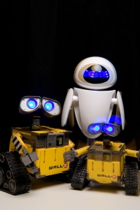 My new Wall-E & Eva Mini Robots Photo By Tasslehoff Burrfoot