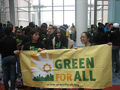 Group Photo - Green For All @ Power Shift Photo By greenforall.org