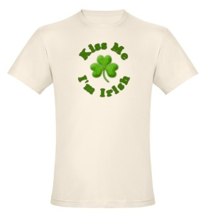 Organic Kiss Me I'm Irish By CafePress.com