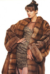 Sable Coat from Arpel Fur no 36 Photo by Fur Fashion Scans
