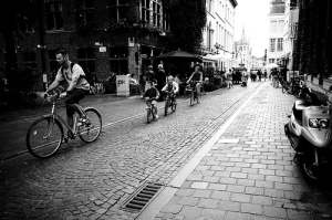 People Use Bicycles Photo By earcos