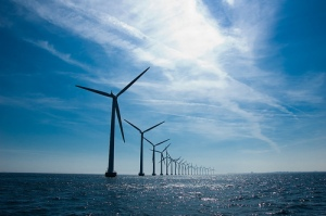 Windmills at Middelgrunden Photo By andjohan