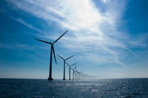 Windmills at Middelgrunden Photo By andjohan