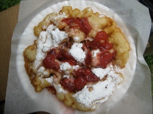 Vegan Funnel Cake