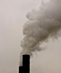 Shelbyville Smoke Stacks Photo By Paul J Everett