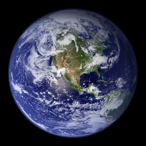 Blue Marble (Planet Earth) Photo By woodleywonderwork