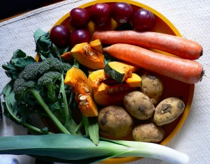 Vegetables for dinner Photo by Sandy Austin